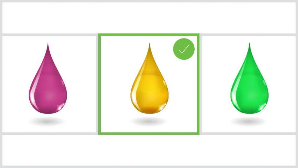 Selection of lubricants