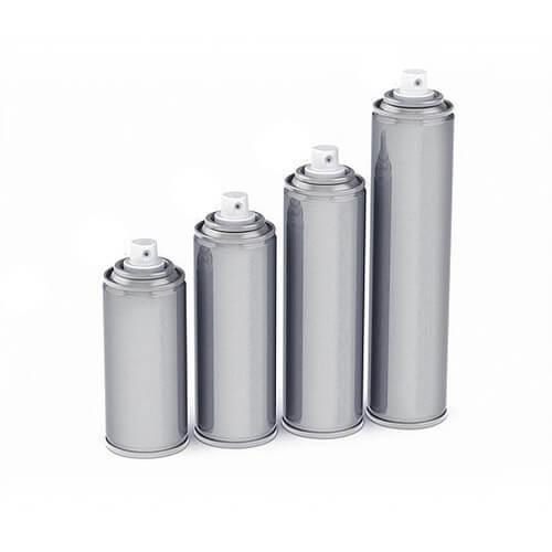 Aerosol tins