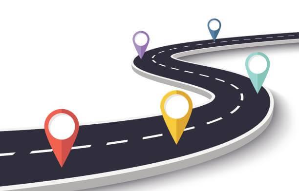 road map image