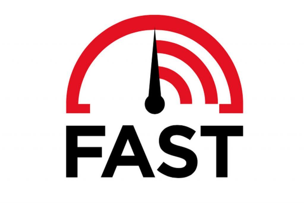 vector speedometer showing fast speed