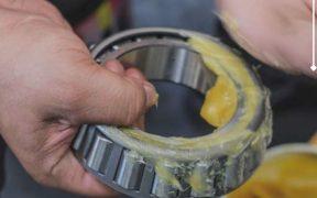 Lubricating bearing